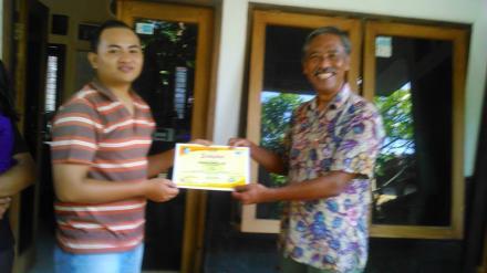 Perpisahan Dengan Master Trainer OpenSID di Kantor JMS Lombok