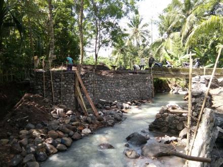 Pembangunan Dam Pembagi Air