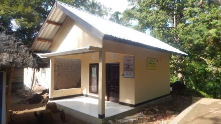Rehab Balai Posyandu Dusun Songoran dari Program Dana Desa (DD) Termin II (Kedua)