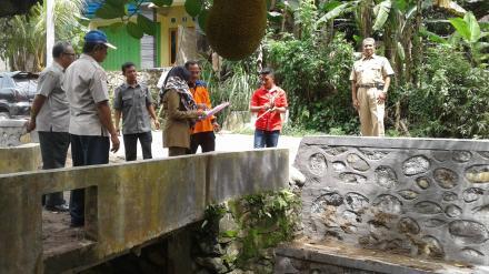 Kunjungan Kerja Kepala BPBD Kab. Lombok Barat Bersama Kabid Rehabilitasi Rekonstruksi Kebencanaan