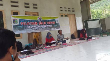 Pelatihan Balai Rakyat