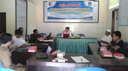 Pelatihan SISKEUDES Perangkat Desa Gelangsar