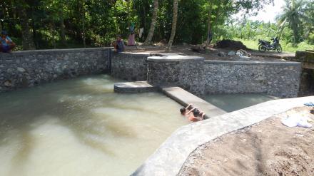 Pembangunan Dam Bagi Kiri Untuk Saluran Irigasi Persawahan