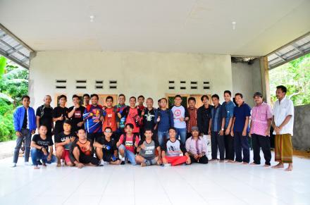 Rapat Pembuatan Jalur Trek Sepeda bersama Komunitas Tinjal Pedal NTB