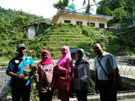 Kunjungan Kordinator GSC Provinsi Ke Desa Gelangsar