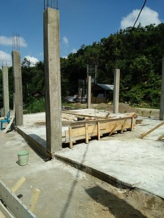 Lanjutan Program Pembangunan Aula Kantor Desa