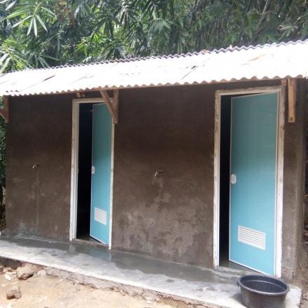 Pembangunan MCK Keluarga Dari Dana Desa (DD) Tahap Kedua Tahun 2017