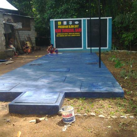 Pembangunan Ipal Komunal Desa Gelangsar Tahun 2017
