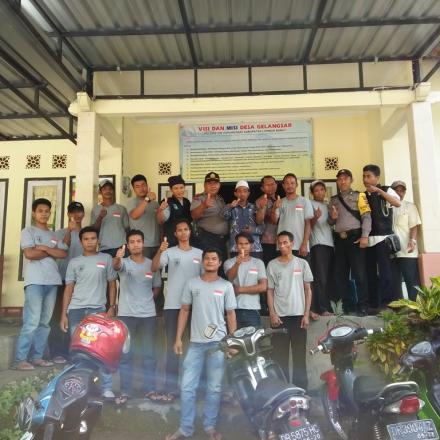 Pelatihan Langlang Gumi Gempeng Desa Gelangsar dari Dana Desa Tahun 2017