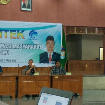 Bimtek Kelompok Informasi Masyarakat se-Kabupaten Lombok Barat