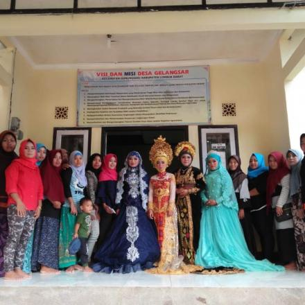Pelatihan Tata Rias Desa Gelangsar Tahun 2018