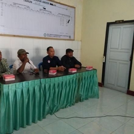 Pelatihan Media Sehat Bersama KKN UNIZAR Mataram dan KPID Provinsi NTB di Desa Gelangsar